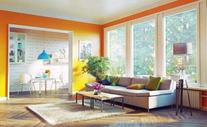 ソファの色で風水を良くする方法