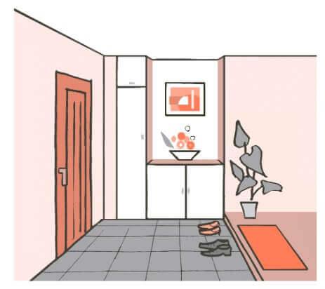 風水で玄関に飾るおすすめの絵